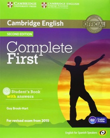 Complete first certificate st+wb+key+cd