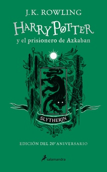 Harry Potter y el prisionero de Azkaban (edición Slytherin del 20º aniversario) (Harry Potter 3)