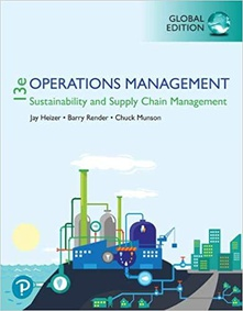 Operations management sustainability and supply chain mana