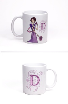 Taza British Regency by Titania (Inicial D)