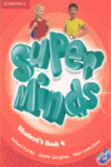 Super minds 4 (student's +dvd)