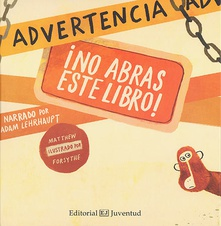 Advertencia ¡no abras este libro!