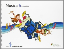 (cat).(12).musica 5e.prim.(+cd) (els camins)