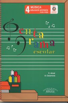 Pentagrama escolar 4:quadern d´ exercices