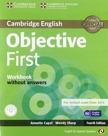 Objective first certificate wb-key+cd