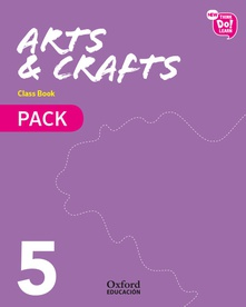 Arts & crafts 5r.prim.pack (libro+cd) (modulos)