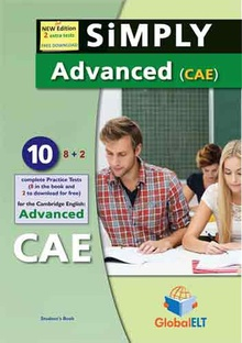 Simply advanced cae 10 practice test student's book