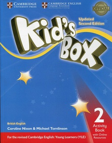 (2 ed) ep 2 - kid*s box updated wb (+online resources)