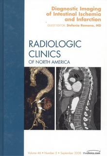 Diagnostic imaging of intestinal ischemia and infarction