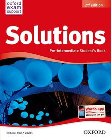 Solutions. Pre-intermediate. Students Book