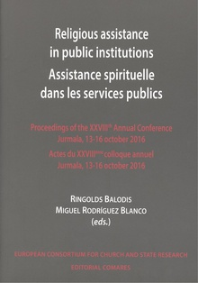 Religious assistance in public institutions