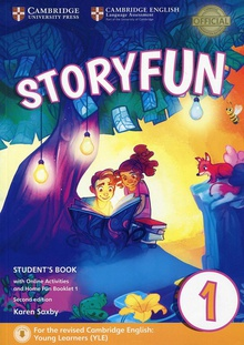 Storyfun for starter level 1 student+online activities+home fun booklet