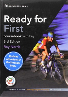 Ready for first certificate FCE student + key + cod.ebook pack 2016