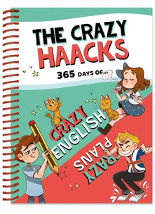 Agenda The Crazy Haacks y actividades en inglés (Serie The Crazy Haacks)