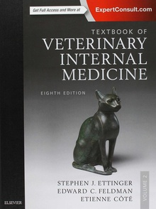 Textbook of veterinary internal medicine expert consult.(8th edition)