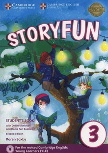 Storyfun for movers level 3 Student+online activities+home fun booklet