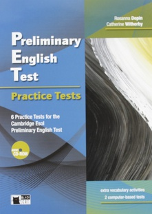 Preliminary english test. Practices test +cd
