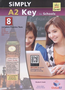 Simply a2 key for schools practice test