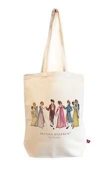 Bolsa de tela British Regency by Titania