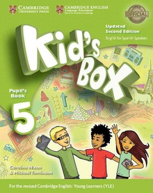 Kid's Box 5 Primary Pupil's Book with Home Booklet 2 Updated Spanish Edition 2017