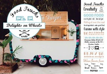 Food trucks Delights on wheels en route