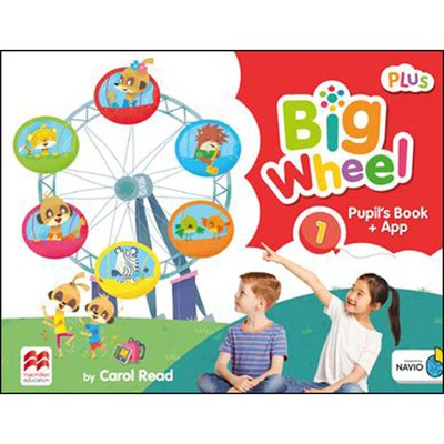 Big wheel 1 pupil's book pack plus