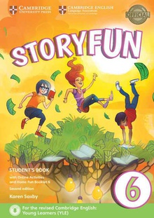 Storyfun for flyers level 6. Student+online activities+home fun booklet