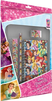 Disney princess fun set with notebook