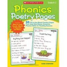 Phonic poetry pages.(grades k-2)