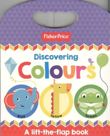 FISHER PRICE - DISCOVERING COLOURS - ING 0 to 3 years