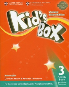 Kid´s box 3iprimaria workbook+online resourece