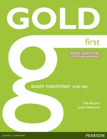 Gold first exam maximiser +online audio+key