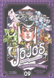 DIAMOND IS UNBREAKABLE Jojo's bizarre adventure 9