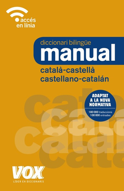 Diccionari manual catalÀ-castella/castellano-catalÁn