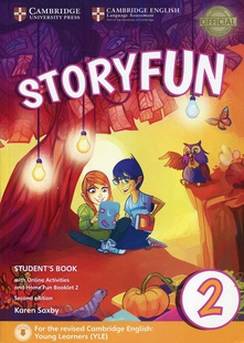 Storyfun for starter level 2. Student+online activities+home fun booklet