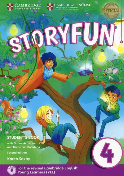 Storyfun for movers level 4. Student+online activities+home fun booklet