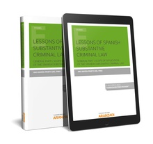 Lessons of spanish substantive criminal law (papel + e-book)