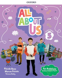 All about us 5 primary coursebook pack andalucia