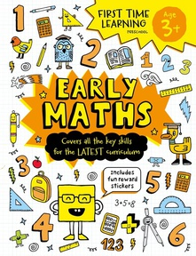 Early Maths First Time Learning: Age 3+