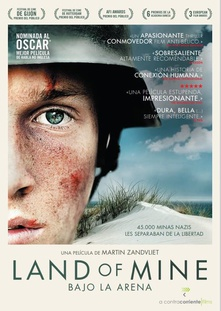 Land of mine (bajo arena) dvd