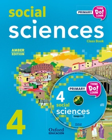 Think Do Learn Social Science 4th Primary Students Book + CD