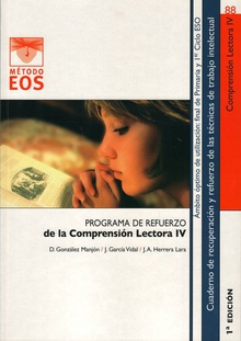 Programa refuerzo comprension lectora IV