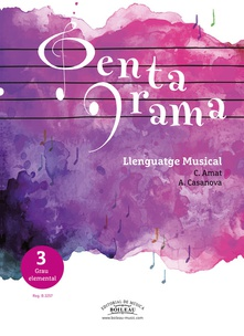 PENTAGRAMA LLENGUATGE MUSICAL 3 Elemental