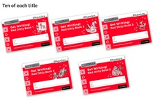 Red write inc.get writing! red ditty 1-5 pack