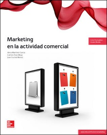 Marketing actividad comercial. Grado medio