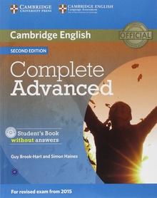 Complete advanced st-key+cd spanish speakers