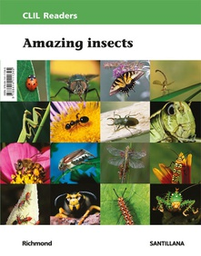 Readers nivel ii. amazing insects clil