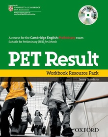 Preliminary English Test Result: Printed Workbook Resource P