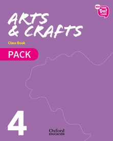 Arts & crafts 4r.prim.pack (libro+cd) (modulos)