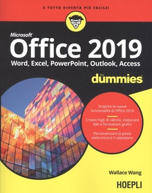 OFFICE 2019 FOR DUMMIES Word, Excel, PowerPoint, Access